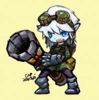 Tristana by capcomcc