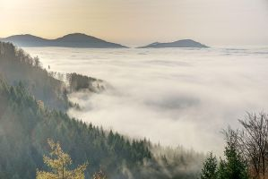 In a sea of clouds 4 by duncan-blues