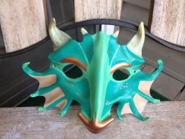 First Dragon Mask by omfgitsbutter