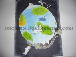The Earth I saw in my mind by snowny