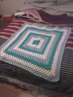 My Nephew Anthony's Baby Blanket by happy-knitters