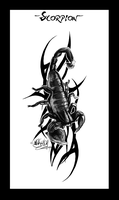 -Scorpion- Tattoo by WhiteSpiritWolf