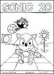 Sonic 20 by Megamink1997