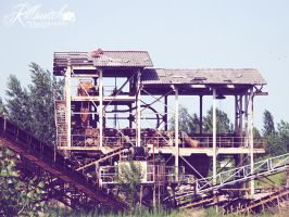 Abandoned gravel pit by killswitch90