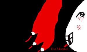 Die monster!!(i did it on flockdraw) by FunnyGamer95