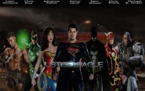 Justice League Banner by RedHood2913