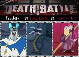 Death Match, Frostbite vs. Gramps vs. Ah-Mah by srebak