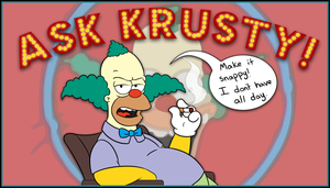 Ask Krusty! by IsabellaPrice