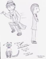Harry and Marcone and Cat by Cats-Eye-93