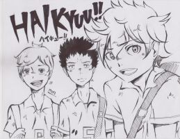 Haikyu!! by iAlcor