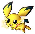 Smash Collab 2015 - Pichu by WHATiFGirl