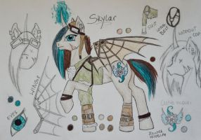 Skylar the Pony - Reference by Salvada