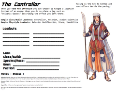 Avatar Sheet Prototype - The Controller by Thrythlind