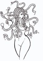 Sexy Medusa by re-coil