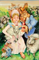 How Bo Peep lost her sheep by terryBrooks
