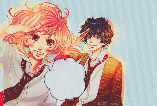 Ao haru ride by katita-chan