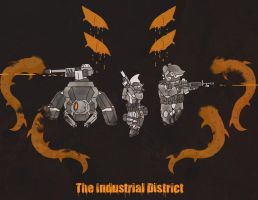 The Industrial District by Yoblicnep