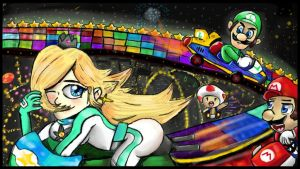 Rainbow Road by omgCheez