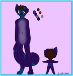/Nathans fursona/ Nate ref by Freeze-pop88