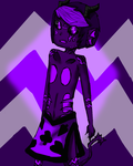 spritestuck eridan /for lack of a better name/ by evillovebunny500