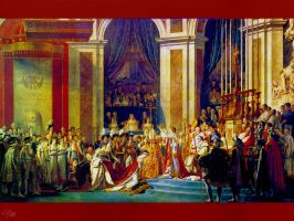 The Coronation of Napoleon by GracieKane