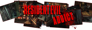 Banniere Resident Evil Addict by UndeadTeddy