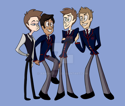 DALTON WARBLERS AF by AaronCello