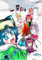 Egao Snow Party by Nisai