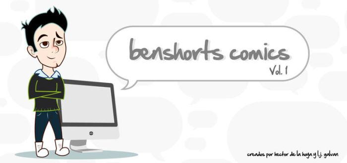 Benshorts Comics Vol. 1 Cover by ljgalvan