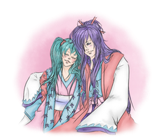 [AT] Miku X Gakupo by justShadowchan
