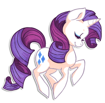Rarity by griffsnuff