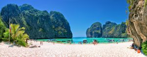 The Beach - Maya Bay, Phi Phi Leh, Thailand by hessbeck-fotografix
