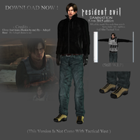 Leon S Kennedy Damnation Model (No Vest Version) by WeskerFan1236