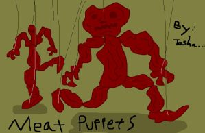 Meat Puppets by creecreehoneybees