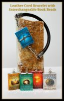 Game of Thrones Leather Bracelet by maryfaithpeace