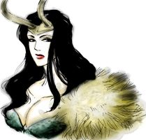 Lady Loki version two by saiyagojyo