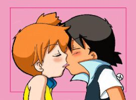 Ash e Misty - Kiss me by Ya-chan85