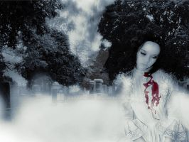 The Woman in White by KatVonB