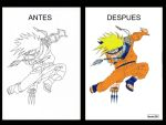 NARUTO ANTES Y DESPUES by MUERTITO69