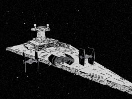 Star Destroyer by Sirix2011