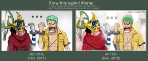 Draw this again! One Piece - This can't be good... by SergiART