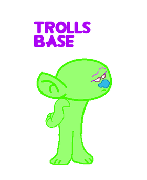 Troll Base by mixelfangirl100