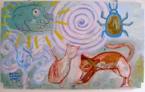 Two cats and death 2009 by beatrixxx
