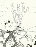the pumpkin king by Cassidy-Slingby