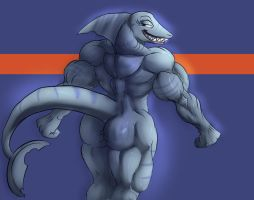 Muscled Shark by Torcher999