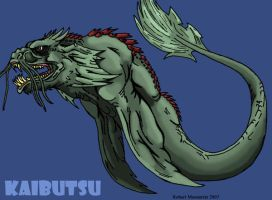 Kaibutsu redesign by Crocazill