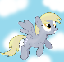Derpy Hooves -Shading Practice- by Ayleia-The-Kitty