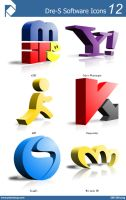 Dre-S Software Icons 12 by piscdong