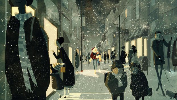 A Night In December by PascalCampion