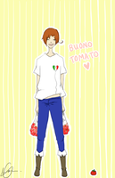 buono tomato! by scribbling-all-day